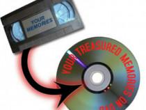 Conversie casete VHS/Hi8/miniDV pe DVD sau USB