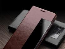 Husa piele fina naturala Qialino Huawei Mate 10 smart cover