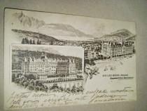 Aix-les-Baines (Savoie) Hotel Bernascon1912 vedere veche