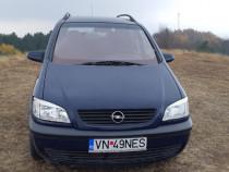 Opel zafira 7 Locuri albastra 2002 1,8 benz+Gaz125 cp