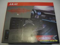 Akai, ca009-a, radio cu mp3 player auto, 12v, nou, la cutie