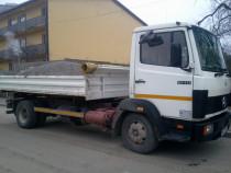 Transport moloz, beton, nisip, pietris, Bucuresti si Ilfov