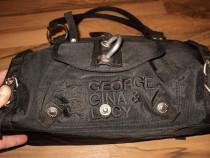 Geanta de dama originala george,gina & lucy ,culoare negru