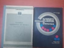 Set cărți statistica (stas și elemente de teorie)