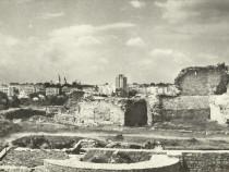 Carte postala Suceava anii 60, Ccetatea Sucevei sec. XIV-XV
