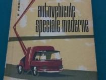 Autovehicule speciale moderne/ v. parizescu/ 1965