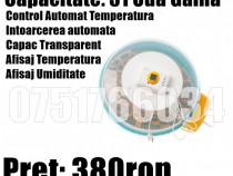 Incubator Clocitoare Rotiere Automata 51 Oua Gaina Temp Umid