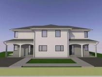 Duplex 120 mp+250 mp gradina, zona il milanese, floresti
