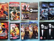 Coperți și cărți tehnice pentru jocuri de PSP
