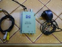 Radio AV Receiver Wi-Fi 1,2ghz (minicam spy)