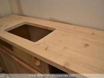 Blat din lemn de pin lamela continua diferite dimensiuni NOU