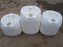 Bidoane plastic 18. 22. 27 litri