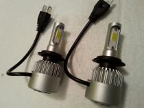 Becuri LED H7, 12V autoturism