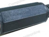 Conector DC, 2,5mm, mama, pe cablu - 121690