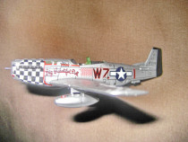 8174-Macheta avion vintage Big beautifull doll.