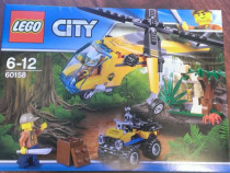 Lego City 60158 original - Elicopter de transport in Jungla