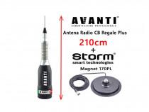 Set Antena Statie CB AVANTI Regale 210cm +Magnet Storm 170PL