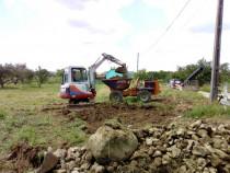 Excavatii basculare rotativă