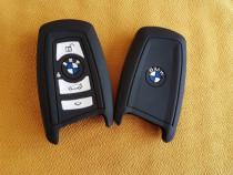Husa Silicon pt Cheie BMW F 10, F20,F30 s.a Modele Noua logo