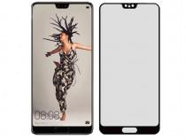 Folie Sticla Tempered Glass Huawei P20 2D Full Glue Black