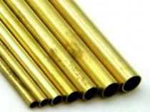 Teava alama 30x1.5mm rotunda CuZn37 CW508L cupru aluminiu in