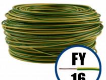 Conductor FY 16 -100M-GALBEN/VERDE-Cablu curent cupru-H07V-R