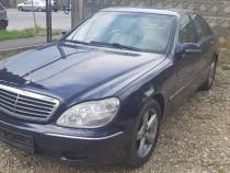 Rate Mercedes S 320i, piele , clima functio, schimb cu combi