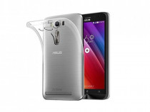 Husa silicon asus zenfone 2 laser ze550kl clear ultra thin
