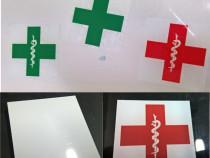 Sticker parbriz ipa smurd pompieri medic
