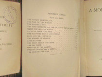 Utopia moderna-H.G.Wells-Ed. engleza veche 1905.