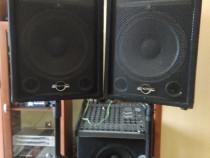 Boxe Phonic -Mixer Activ 800w Set