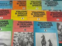 Revista vânătorul și pescarul anul 1981*lot complet