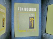Toxicologie-I.Popa. Ed. Medicala, Buc. 1978 st. foarte buna.