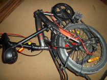 Bicicleta pliabila din aluminiu