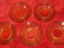 5 farfurioare dulceaţă, vintage