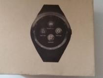 Ceas smartwatch,Slot Sim, Negru,nou nout.