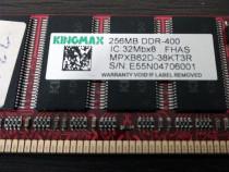 Memorii RAM 2*256MB DDR400 PC3200 -- Kingmax