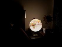 Glob planetar luminos LED