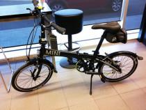 Mini Cooper bicicletă pliabilă, full aluminiu 11 kg.