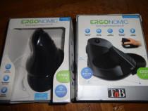-40 % reducere, 2 mausi tnb mwergov ergonomic laser vertical