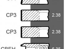 Set segmenti 3931644m91 , 40145 , 41158038