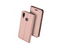 Husa telefon flip book huawei p20 lite rose gold produs nou
