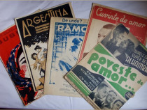 5 partituri muzicale vechi, romanesti