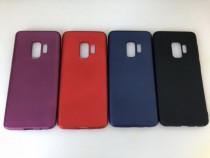 Samsung S9 S9 Plus - Husa Silicon Ultra Slim Rosie Neagra Vi