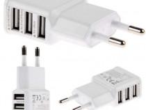 Incarcator FastCharging pentru Telefon cu 3 Porturi USB