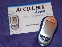 Glucometru nefolosit accu check aviva diabet glicemie