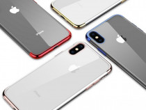 Iphone X XS 10 XS MAX - Husa Din Silicon Spate Transparent C