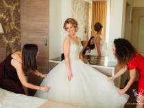Rochie de mireasa Allure Bridals 9103 deosebita