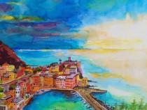 Tablou cu peisaj Italia