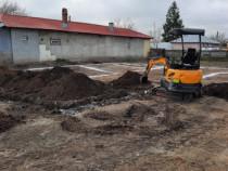 Miniexcavator excavator de inchiriat